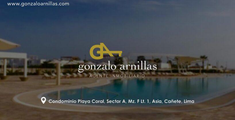Vendo Terreno en Condominio Playa Coral, Asia