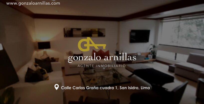 Vendo exclusivo departamento en San Isidro