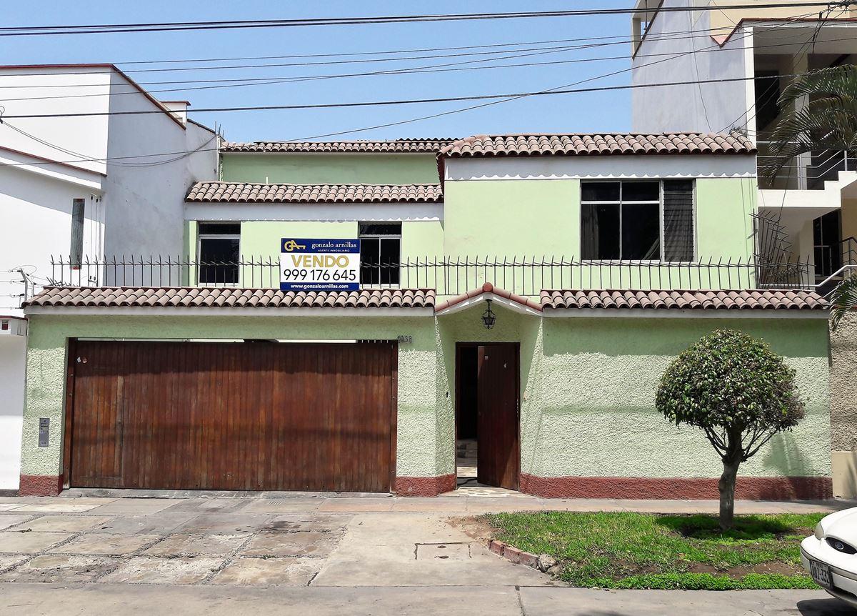 Vendo casa familiar en Vista Alegre, Surco